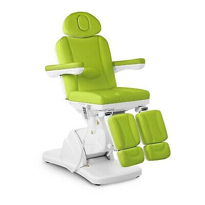 Professional Cosmetic Chair Pedicure Chair Beauty Bed Foot Spa Electric Green