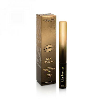 Simon & Tom Lips Booster - Baume-gloss repulpant et hydratant. Effet volume...
