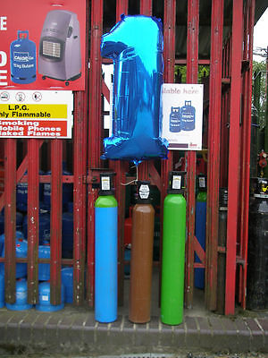 ArgonHP (High Purity)Gas Cylinder, 10litre size, 200bar fill*  for Tig Welding.