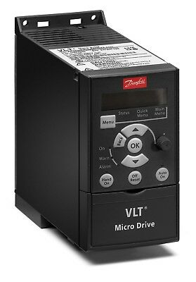 Danfoss VLT Micro Drive, 3 PHASE, 132F0017, with LCD Display panel, 37kW 0.5HP