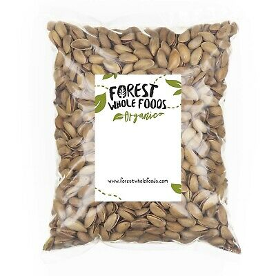 Forest Whole Foods - Organic Pistachios (Roasted And Salted In Shell) 1kg