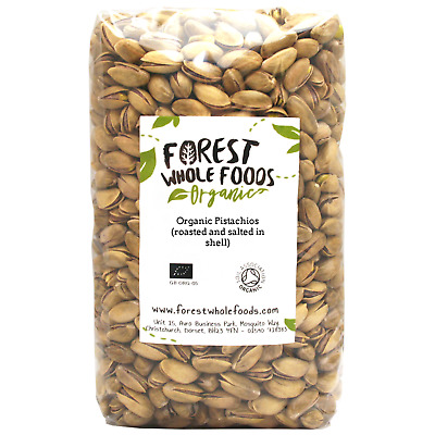 Forest Whole Foods - Organic Pistachios (Roasted And Salted In Shell) 3kg