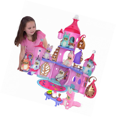 Bush Baby World Shimmer Palace Lightshow Playset with Soft Toy