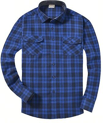 Casual Button-down Shirts Men's Plaid T-shirt Slim Fit Long Sleeves Clothing New