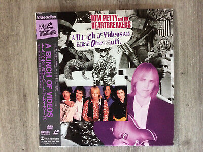 Laserdisc LD - Tom PETTY and the HEARTBREAKERS - A bunch of videos - Japan
