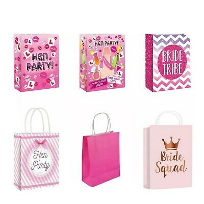 ***Hen party gift bags favours**BRIDE TO BE***SQUAD TRIBE**WILLY**L PLate***