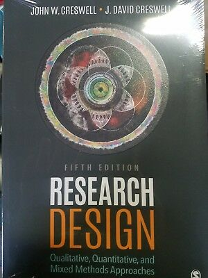 Research Design By Creswell & Creswell 5th Edition (SEALED) FREE SHIPPING