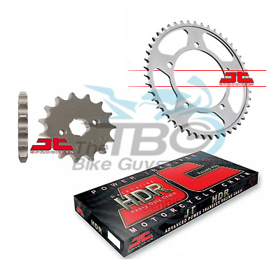 Honda Xl 125V Varadero 01 - 12 Jt Heavy Duty Chain And Front / Rear Sprocket Kit