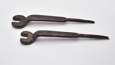 Billings 1702 & Herbrand 23/32 Spud Wrench Set Erection USA (T922)