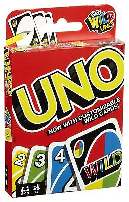UNO Playing Card Game Contains 2 Set of Cards Mattel For Family Friend Party Fun