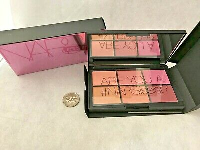 NARS NARSissist Unfiltered II Cheek Palette 6 shades (0.12 oz each) NIB ~SALE~