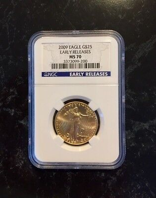 2009 American Gold Eagle -RISING GOLD PRICES!- Graded by NGC MS70 Early Release