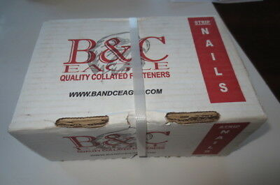 "B&C Eagle Offset Head Framing Nails, 2-3/8"" x .113"", 238X113/33, Box 2,500, FS"