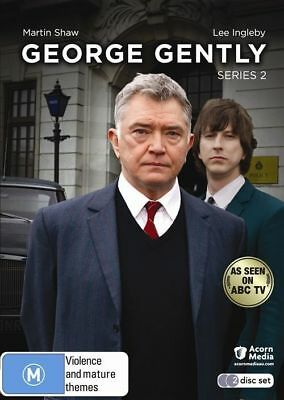 George Gently  - Series 2 - Martin Shaw  - 2 Disc Set  - Brand New