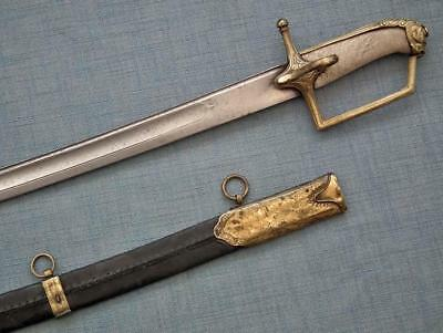 Antique Imperial Russian Or Polish Hussar Sword Sabre 18 Century Poland - Russia