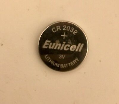 1x NEW Eunicell CR2032 Lithium 3V Coin Cell Car Remote Watch Battery Free Ship
