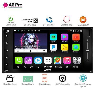 [For Toyota/Subaru] ATOTO A6 Pro A6YTY721PR Android car stereo/ 2xBluetooth/aptX