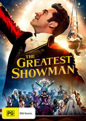 The Greatest Showman - DVD (NEW & SEALED)