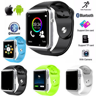 Bluetooth Smart Wrist Watch A1 GSM Phone For Android Samsung iPhone Men Women