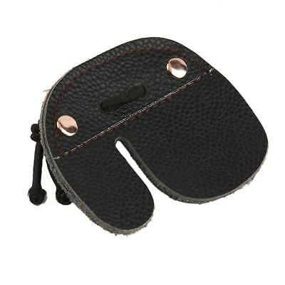 Cow Leather Archery Finger Guard Protector 3 Finger Tab Guaed Bow Hunting