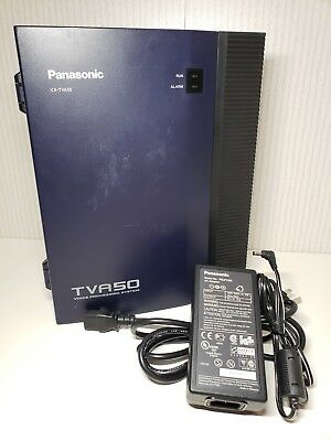 Panasonic KX-TVA50 Voice Processing System Control Unit for Hybrid IP WORKING
