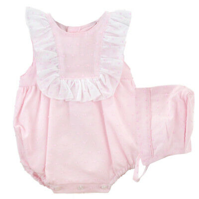 Cheap Sale Beautiful Spanish Summer Romper Aged Up To 6 Months By Calarmaro Girls' Clothing (0-24 Months) Baby