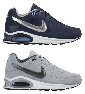 NIKE AIR MAX COMMAND LEATHER BLU 749760 401 CALIENDOSPORT SPORT FITNES