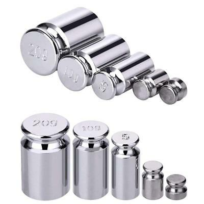 5pcs/set Plating Calibration Gram Scale Weight-Set for Digital Balance best