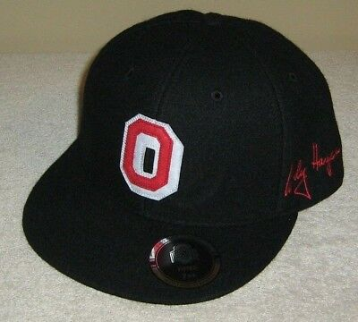check out e183f 7fedf ... shop ohio state buckeyes woody hayes osu block o fitted hat size 954cb  d6cd9