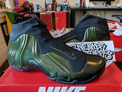 73ba79623e0 NIKE AIR FLIGHTPOSITE One Legion Green Black Basketball Men s AO9378 ...