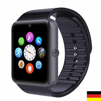 GT08 Reloj Inteligente Smart Watch Bluetooth SIM Para iPhone Samsung Android SIM