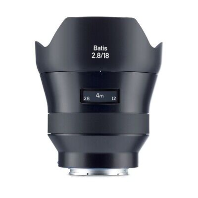 Zeiss 18mm f/2.8 Batis Full Frame Autofocus Lens for Sony E Mount α Series