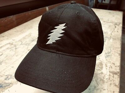 Grateful Dead Steal Your Face 'Bolt' Embroidered Low Profile Organic Cap
