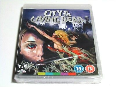 City Of The Living Dead Blu-Ray Arrow Video Brand New Uk Region Free