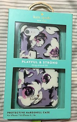 NEW Kate Spade New York Case Cover Apple Iphone 7 Iphone 8 Romantic Floral Clear