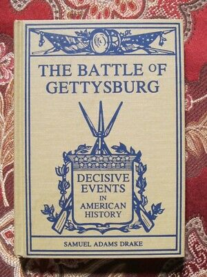 The Battle Of Gettysburg - 1891 Reprint - Civil War - Brand New - Out-Of-Print