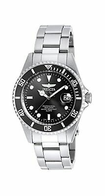 Invicta Men's 8932OB Pro Diver Analog Quartz Silver; Dial color - Black Stain...
