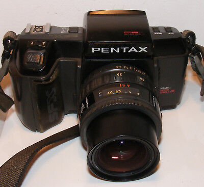 VINTAGE PENTAX SFXn  35mm SLR  FILM CAMERA JAPAN