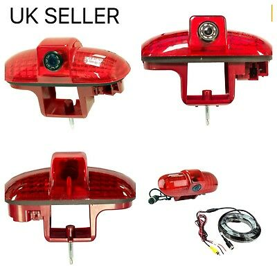 Renault Traffic Reverse Rear Brake Light Camera,2001-2014,night Vision,uk