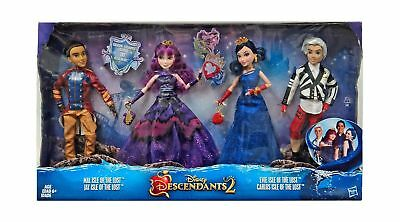 Disney Descendants 2 Dolls Isle of the Lost 4 Pack Mal, Evie, Carlos,  Jay (E...
