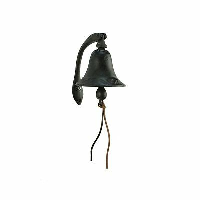 CTW Home Collection Cast Iron Logan Dinner Bell With Bracket Dinner Bell - Fe...