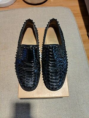 37a65eb915ac CHRISTIAN LOUBOUTIN MEN S Boat Loafers In Good Pre-Owned Condition ...