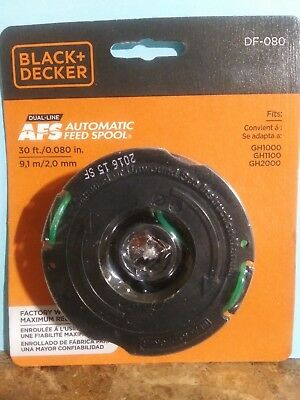 NEW BLACK & Decker Dual-Line Replacement Spool  080
