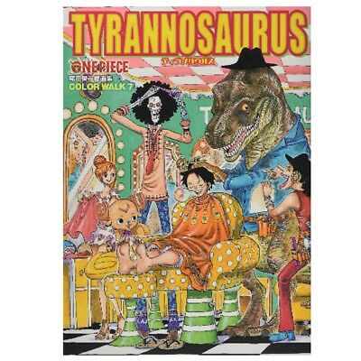 ONE PIECE Illustration collection TYRANNOSAURUS COLOR WALK 7 Oda with tracking