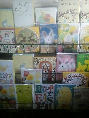 100 Easter Cards. Wholesale Joblot Greeting Cards