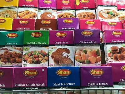 SHAN MASALA &Spices Recipe Seasoning Mix Indian Biryani BBQ Kebab Curry Chicken