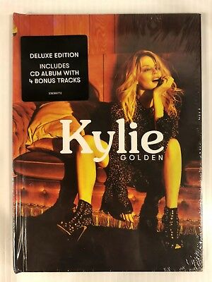 KYLIE MINOGUE Golden 538360772 Deluxe Edition CD Album Bonus Tracks New Sealed