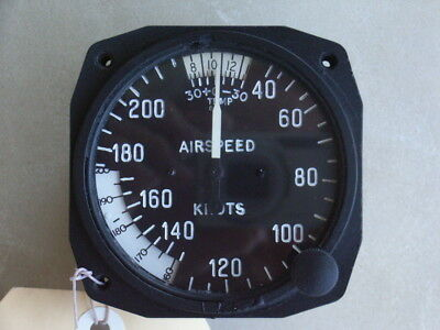 Aircraft Instrument True Airspeed Indicator Piper Comanche
