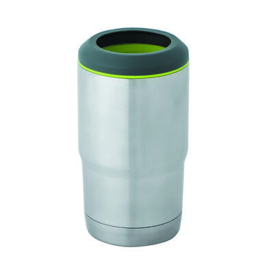 100% Genuine! AVANTI Tough Insulated Stainless Steel Can Cooler Stubbie Cooler!