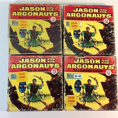 "Vintage Super 8 Sound Color Movies ""Jason & The Argounauts The Golden Fleece"""